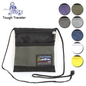 Tough Traveler タフトラベラー Large Pouch with Mesh Pocket TT-0026 【サコッシュ/ショルダーバッグ/ウォーキング/散歩】|highball