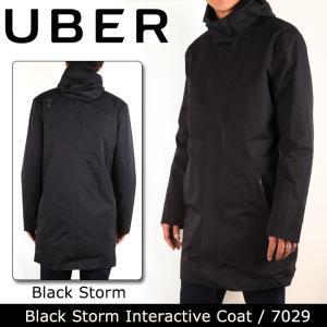 UBR ウーバー Black Storm Interactive Coat 7029 Black Storm 【服】コート ナイロン 防水性 保温性 UBER|highball