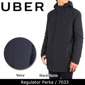 UBR ウーバー Regulator Parka II 7033 【服】コート ナイロン 防水性 保温性 UBER|highball