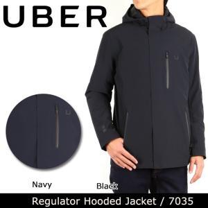 UBR ウーバー Regulator Hooded Jacket 7035 日本正規品 【服】ジャケット ブルゾン ナイロン 防水性 保温性 UBER|highball