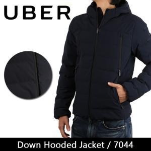 UBR ウーバー ダウン Down Hooded Jacket 7044 【服】ジャケット ブルゾン ナイロン 防水性 保温性 UBER|highball