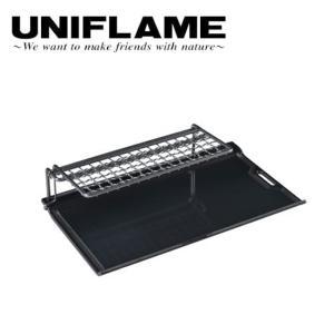 UNIFLAME ユニフレーム ソロ鉄250 665381 【鉄板/キャンプ飯/料理/アウトドア】 highball