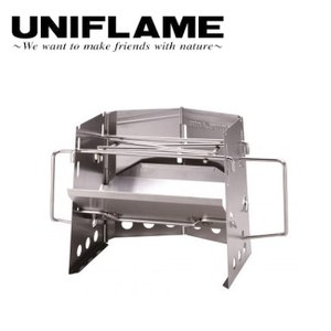 UNIFLAME ユニフレーム 薪グリルsolo 682999 【かまど/焚き火/グリル/料理/アウトドア】|highball