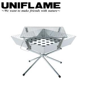 ユニフレーム UNIFLAME ファイアグリル/683040 【UNI-BBQF】ユニフレーム(UNIFLAME) ファイアグリル 683040|highball