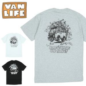 VAN LIFE バンライフ POCKET T-SHIRTS ポケットティーシャツ VL-02-001 【半袖/トップス/アウトドア/カジュアル】【メール便・代引不可】|highball