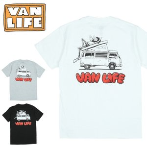 VAN LIFE バンライフ POCKET T-SHIRTS ポケットティーシャツ VL-02-004 【半袖/トップス/アウトドア/カジュアル】【メール便・代引不可】|highball