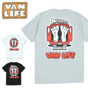 VAN LIFE バンライフ POCKET T-SHIRTS ポケットティーシャツ VL-02-005 【半袖/トップス/アウトドア/カジュアル】【メール便・代引不可】|highball