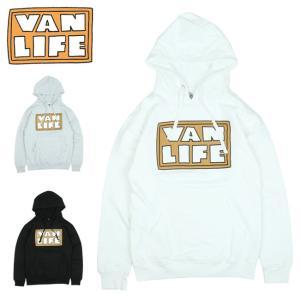 VAN LIFE バンライフ HOODED SWEAT SHIRT フーデッドスウェットシャツ VL-04-001 【トップス/アウトドア/プルオーバーフード/カジュアル】|highball