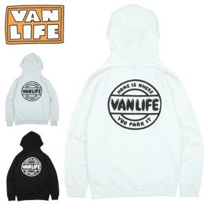 VAN LIFE バンライフ HOODED SWEAT SHIRT フーデッドスウェットシャツ VL-04-003 【トップス/アウトドア/プルオーバーフード/カジュアル】|highball