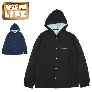 VAN LIFE バンライフ COACHES JACKET コーチジャケット VL-05-001 【アウター/フード/アウトドア/カジュアル】|highball