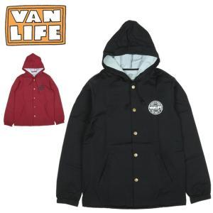 VAN LIFE バンライフ COACHES JACKET コーチジャケット VL-05-002 【アウター/フード/アウトドア/カジュアル】|highball