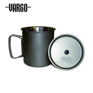 VARGO バーゴ チタニウムTi-Liteマグ750 T-401 【ポット/クッカー/アウトドア/キャンプ】|highball