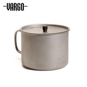 VARGO バーゴ チタニウムTi-Liteマグ900 T-417 【ポット/クッカー/アウトドア/キャンプ】|highball