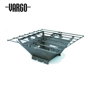 VARGO バーゴ チタニウムファイヤーボックスグリル T-433 【焚き火台/コンロ/バーベキュー/アウトドア】|highball