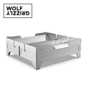 Wolf&Grizzly ウルフアンドグリズリー Fire Safe ファイヤーセーフ 20330002 【焚火台/コンパクト/バーベキュー/キャンプ/アウトドア】|highball