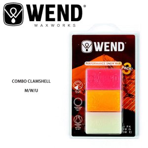 WEND/ウェンド ワックス COMBO CLAMSHELL M/W/U|highball