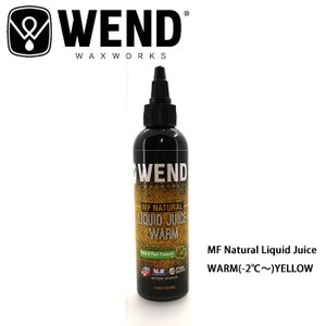 WEND/ウェンド ワックス MF Natural Liquid Juice/WARM|highball