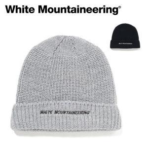 White Mountaineering ホワイトマウンテニアリング WM LOGO EMBROIDERED KNIT CAP ロゴエンブロイダードニットキャップ WM1973826 【ビーニー/ニット帽】|highball