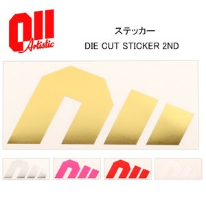 2017 011Artistic ゼロワンワン アーティスティック   ステッカー DIE CUT STICKER 2ND 【スノー雑貨】  ステッカー/日本正規品|highball