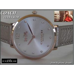 ★≪即日発送≫女性用★COACH 時計  コーチ 腕時計 14502684 レディース New ウルトラスリム|highland-breath