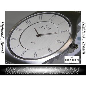 ★究極の機能美/SKAGEN 233LSSC Ultra Slim -from Denmark!|highland-breath