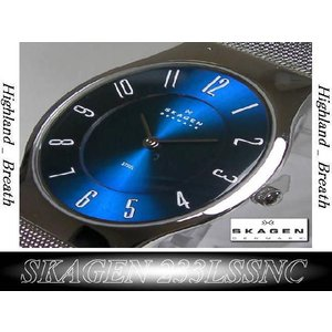 ★究極の機能美/SKAGEN 233LSSNC Ultra Slim -from Denmark!|highland-breath