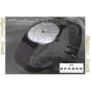 女性用★究極の機能美/SKAGEN 233SSS Ultra Slim -Denmark!|highland-breath