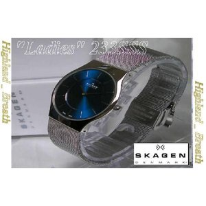 女性用★究極の機能美/SKAGEN 233SSSN Ultra Slim -Denmark!|highland-breath