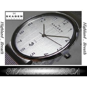 ★究極の機能美/SKAGEN 355LSSCA Ultra Slim -from Denmark!|highland-breath