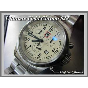 ★W−コート!  ULTIMATE FIELD CHRONO  #828・ルミノックス・クロノ-超人気・超稀少の≪T25表示なし≫|highland-breath