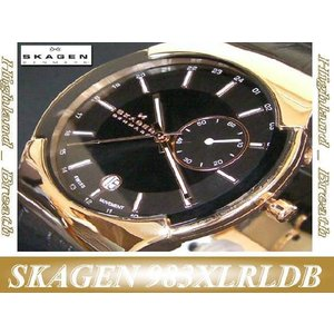"≪即日発送≫●スカーゲン 腕時計 SKAGEN 腕時計  ""BlackLabel"" GMT  ExecutiveModel #983XLRLDB