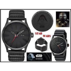 ≪即日発送≫★STAR WARS腕時計 スターウォーズ腕時計コラボ★ SENTRY LEATHER ニクソン 腕時計 nixon 時計 A105SW2444-00|highland-breath
