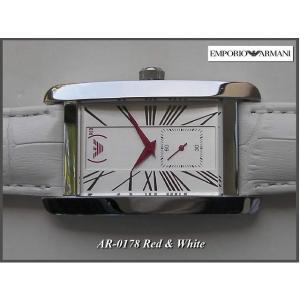 ≪即日発送≫★エンポリオアルマーニ 腕時計 EMPORIO ARMANI 腕時計 赤針・ 限定モデル!AR0178|highland-breath