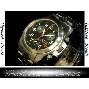 ハミルトンHAMILTON Khaki Action Chrono H63412133|highland-breath