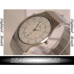 ★究極の機能美/SKAGEN 233XLSS Ultra Slim -from Denmark!|highland-breath