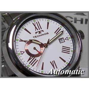 ≪即日発送≫★≪TECHNOS 腕時計 テクノス 腕時計 機械式 自動巻き T1078 SW ≫裏スケルトン|highland-breath