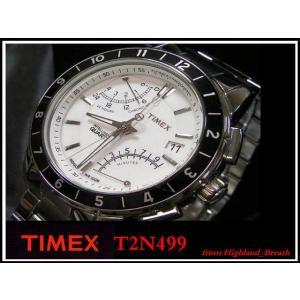≪即日発送≫●TIMEX 腕時計 タイメックス 腕時計 フライバック クロノグラフ T2N499|highland-breath