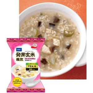 1食あたり86kcal、コラーゲン3,000mg配合の発芽玄米雑炊(中華風 鶏)。おいしく食べて、キ...