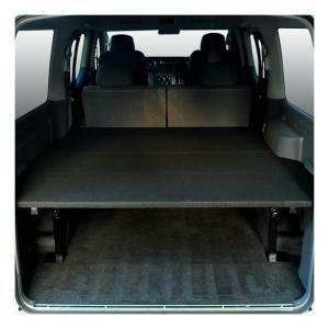 NV350 キャラバン車中泊 ベッドキット プレミアムGX専用 5段階調整機能付き パンチカーペット...