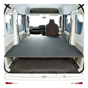 DA17 シリーズ 車中泊 ベッドキット   軽自動車バン用 ベッドキット 日本製 パンチカーペット...
