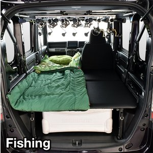 N-VAN / エヌバン JJ1/JJ2 ベッドキット・レザータイプ/クッション材20mm・NVAN車中泊 ベットキット・N-VAN 車中泊 マット・N-VANパーツ|highsideweb|20