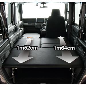 N-VAN / エヌバン JJ1/JJ2 ベッドキット・レザータイプ/クッション材20mm・NVAN車中泊 ベットキット・N-VAN 車中泊 マット・N-VANパーツ|highsideweb|07
