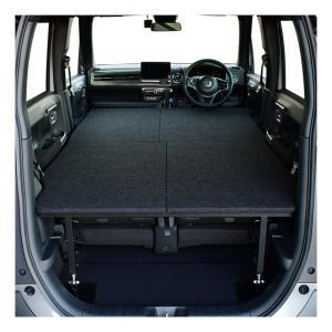 Nワゴン/ N-WGN カスタム 車中泊 ベッドキット パンチカーペット タイプ 車中泊 グッズ 車...