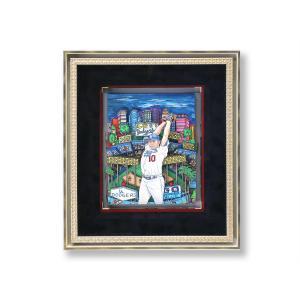 オリジナル 額付 チャールズ・ファジーノ/Legendary NOMO 3Dアート ニューヨーク charles fazzino 版画 野茂英雄 野茂 野球 野球選手 アート art アメリカ highspirits-art