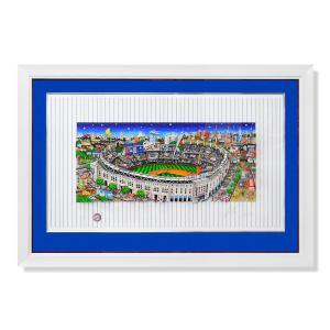 版画 チャールズ・ファジーノ/ピンストライプ・プライド 3Dアート ニューヨーク charles fazzino 野球 野球選手 シルクスクリーン ヤンキース スタジアム highspirits-art