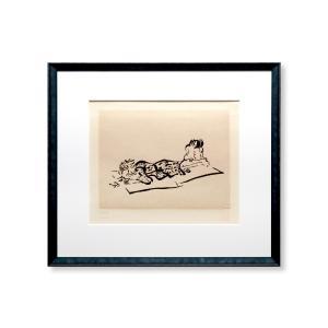 エスタンプ 額付 Karuizawa '77/ジョン・レノン ビートルズ ロンドン イギリス UK John Lennon アート art 音楽 ロック 日本 Japan Beatles|highspirits-art