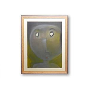 絵画 額付 レオン・アルバ/ Question メキシコ アクリル画 本画 アート 壁掛け Leon Alva ギフト おしゃれ プレゼント  シック highspirits-art