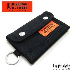 ユニバーサルオーバーオール キーケースカードポケット1枚収納 UNIVERSAL OVERALL 5連キーケース|highstyle
