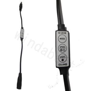 人気 LEDテープ コントローラー DCケーブル 黒 (外径5.5mm-内径2.1mm) 単色LEDテープのON/OFFや明るさ調節、点灯パターンのコントロールが可能|highvalue
