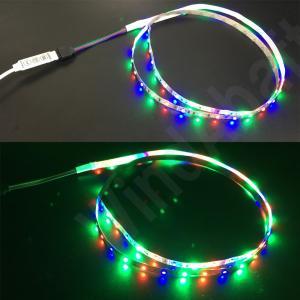 人気 RGB LEDテープ用 コントローラー DCケーブル 白 (外径5.5mm-内径2.1mm) カラーLEDテープのON/OFFや明るさの調節、点灯パターンのコントロールが可能|highvalue